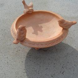 Terracottaskål