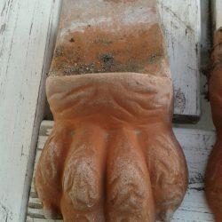 Krukkefod - terracotta