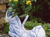 Støvle – til blomst