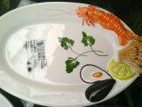 Porcelænfad med Krebse/fiske/hummer