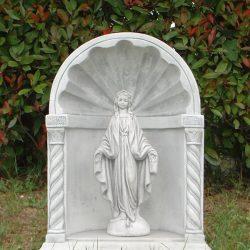 Marmor Madonna niche