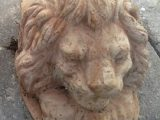 Terracottafod til Terracottakrukker – model med løvehoved