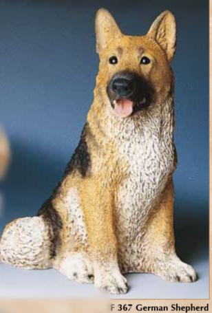 Schæferhund i Resin