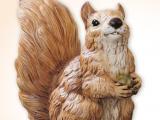 Dyr Egern  naturtro  kunststof