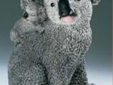 Dyr Koalabjørn med unge – naturtro  Resin
