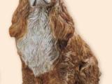 Dyr Cocker Spaniel – naturtro – Resin –